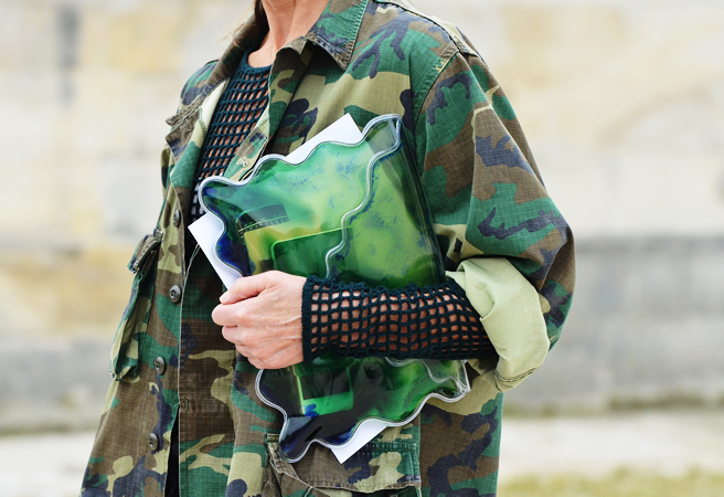 camouflage in fashion Fashion trends are ever-evolving, and the power weapon of prints - camo - is no exception taking camouflage prints from spring into autumn/winter is all about keeping it slick and high fashion without losing its sense of toughness.